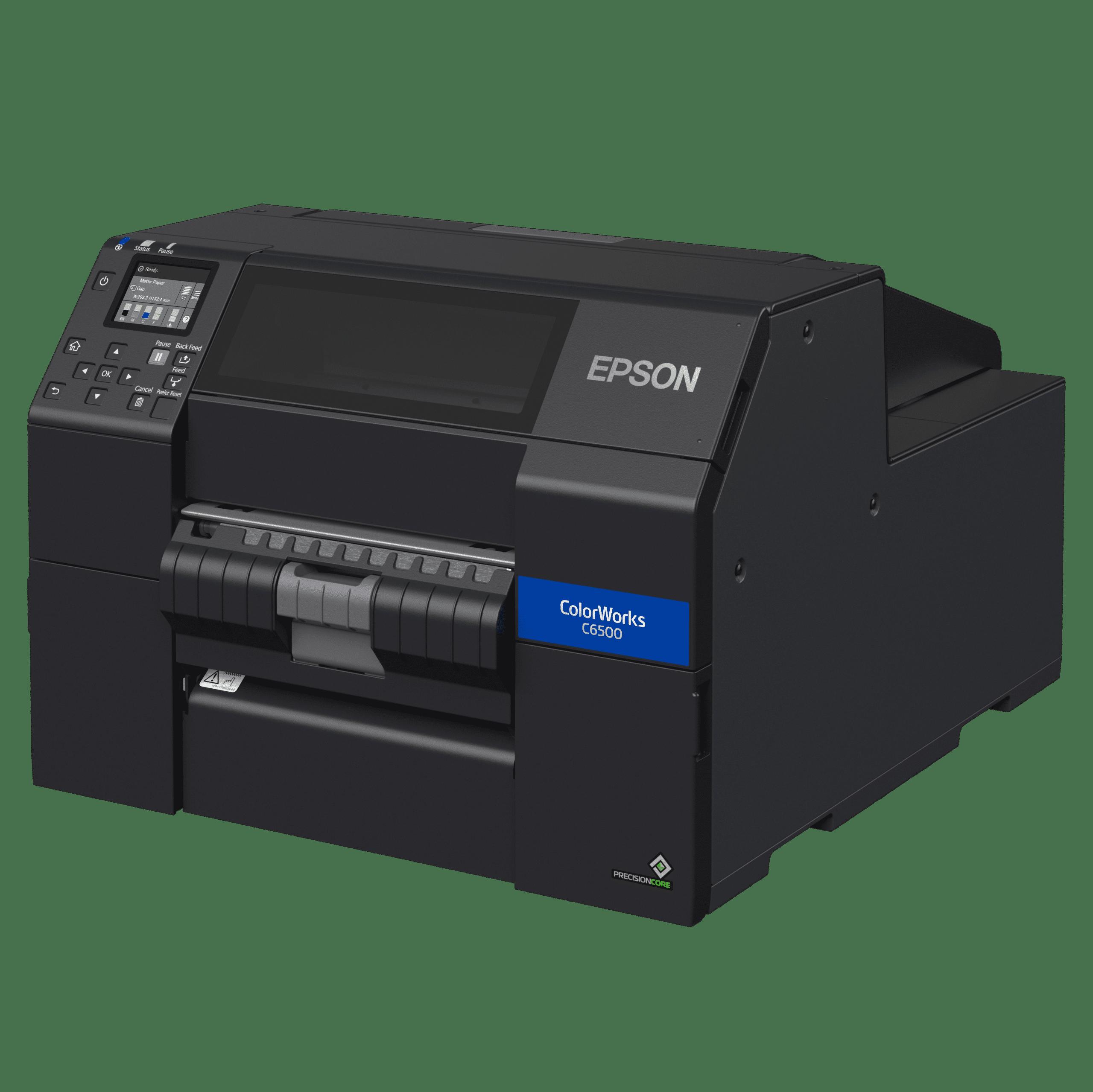 product photo EPSON Colorworks CW-C6500Pe left