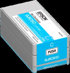 Epson GP-C831 cartridge cyaan product foto