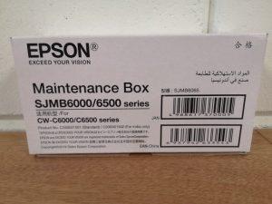 SJMB6000 maintenance box Epson
