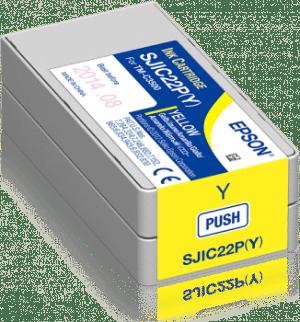 inktcartridge Yellow (geel) EPSON TM-C3500 inkjet